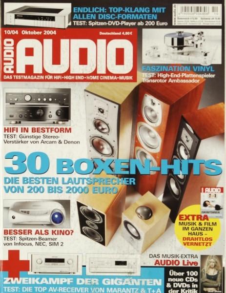 Audio 10/2004 Zeitschrift