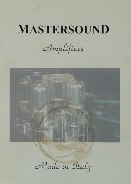 Mastersound Amplifiers Prospekt / Katalog