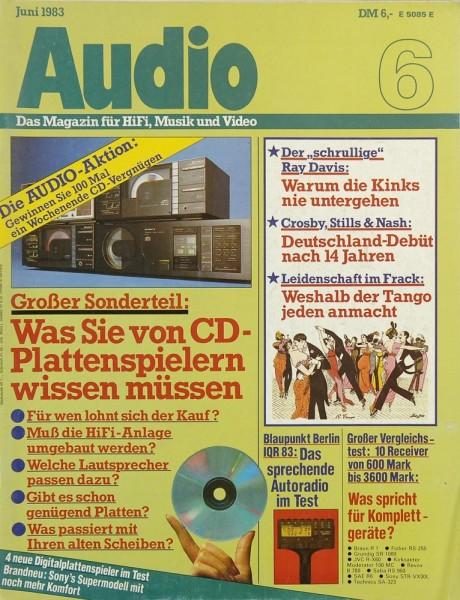 Audio 6/1983 Zeitschrift