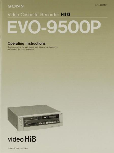 Sony EVO-9500 P Bedienungsanleitung