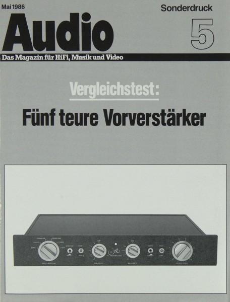 Audio Sonderdruck 5 / Mai 1986 Testnachdruck