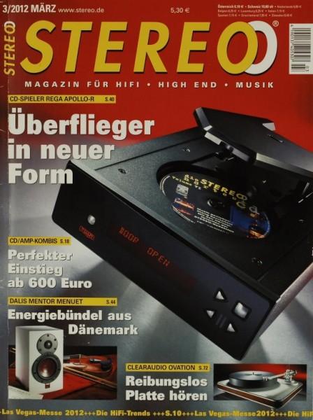 Stereo 3/2012 Zeitschrift