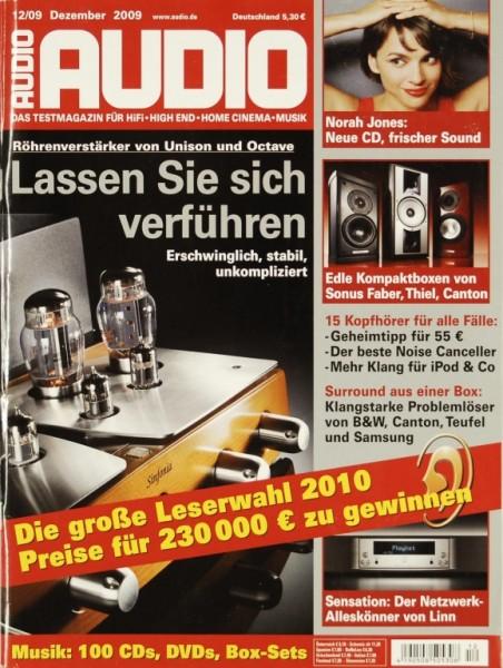 Audio 12/2009 Zeitschrift