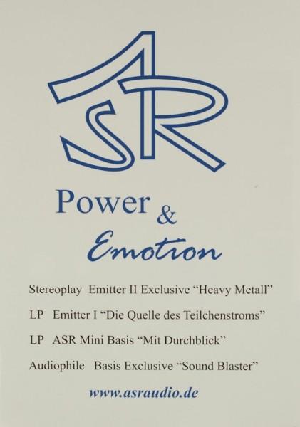 ASR Power & Emotion Testnachdruck