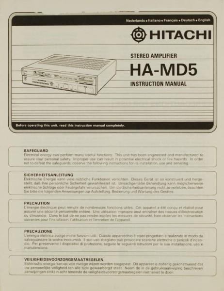 Hitachi HA-MD 5 Bedienungsanleitung