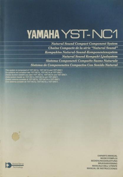 Yamaha YST-NC 1 Bedienungsanleitung