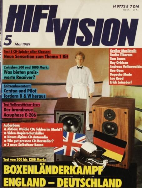 Hifi Vision 5/1989 Zeitschrift