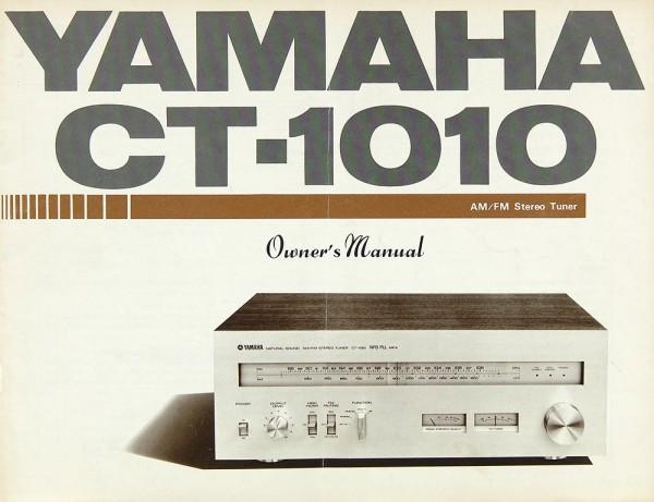 Yamaha CT-1010 Bedienungsanleitung