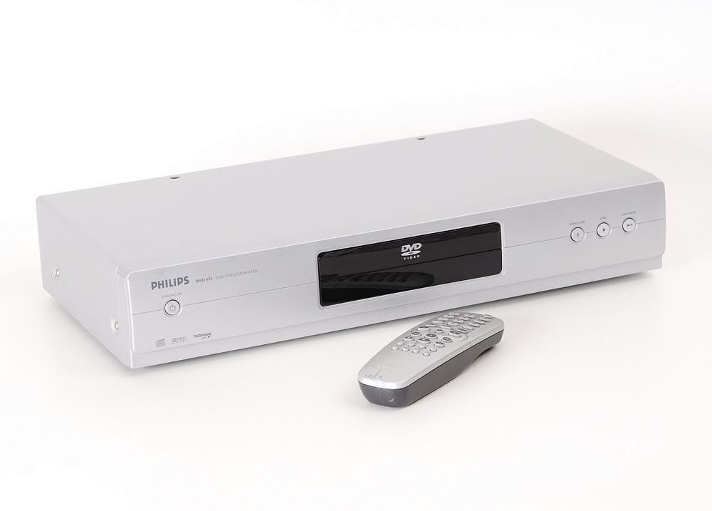 philips dvd 631 dvd player dvd ger te ger te. Black Bedroom Furniture Sets. Home Design Ideas