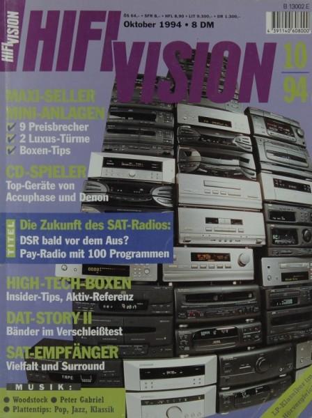 Hifi Vision 10/1994 Zeitschrift