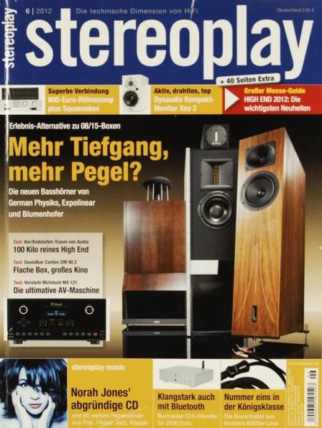 Stereoplay 6/2012 Zeitschrift