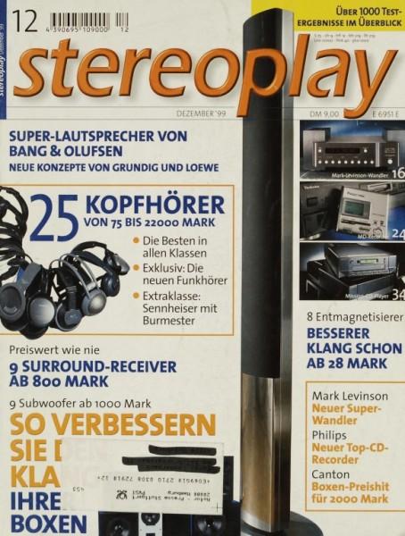 Stereoplay 12/1999 Zeitschrift