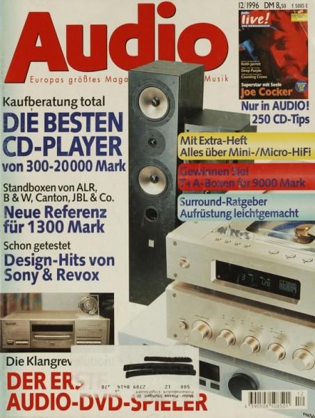 Audio 12/1996 Zeitschrift