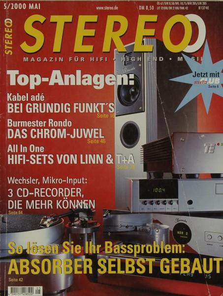 Stereo 5/2000 Zeitschrift