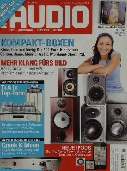 Audio 11/2010 Zeitschrift