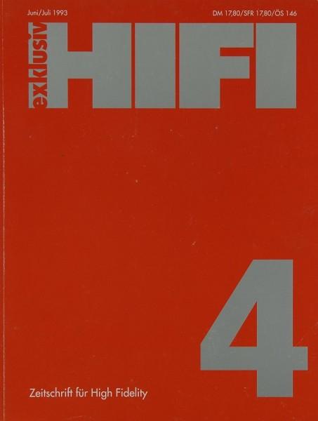 Hifi Exklusiv 4 / 1993 Zeitschrift