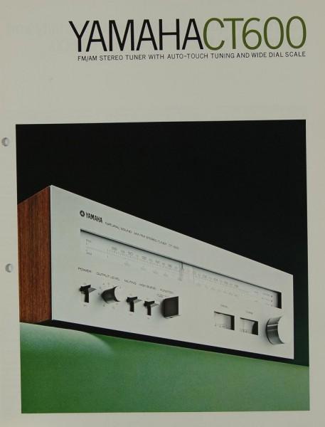 Yamaha CT 600 Prospekt / Katalog