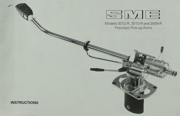SME Models 3012-R / 3010-R / 3009-R Bedienungsanleitung