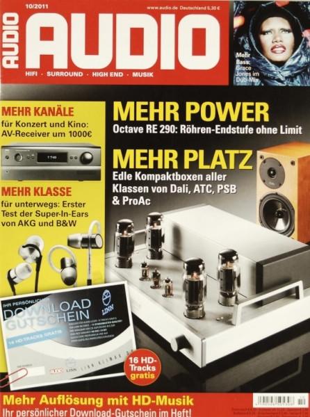 Audio 10/2011 Zeitschrift