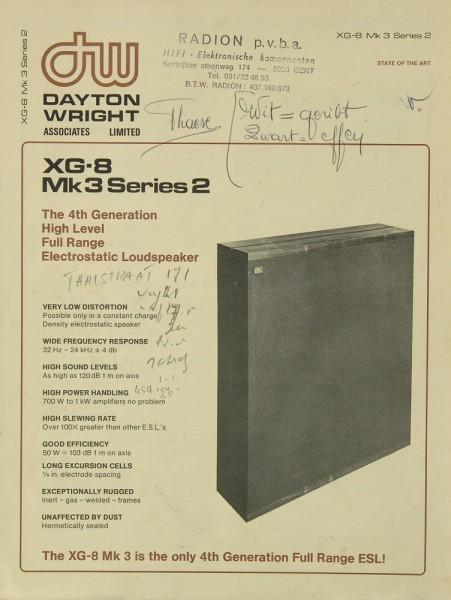 Dayton Wright XG-8 Mk 3 Series 2 Bedienungsanleitung
