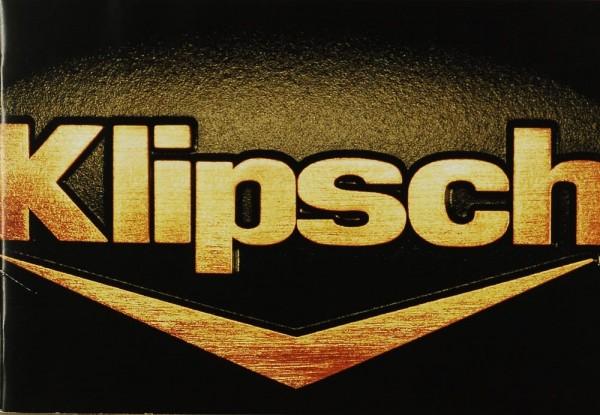 Klipsch The Ultimate Sound Experience Prospekt / Katalog