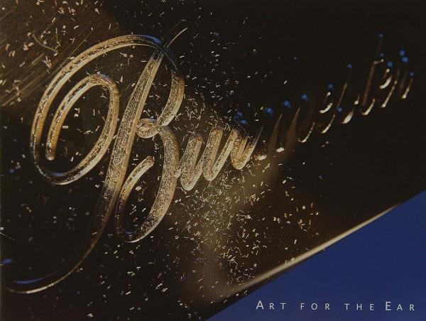 Burmester The Art of the Ear Prospekt / Katalog