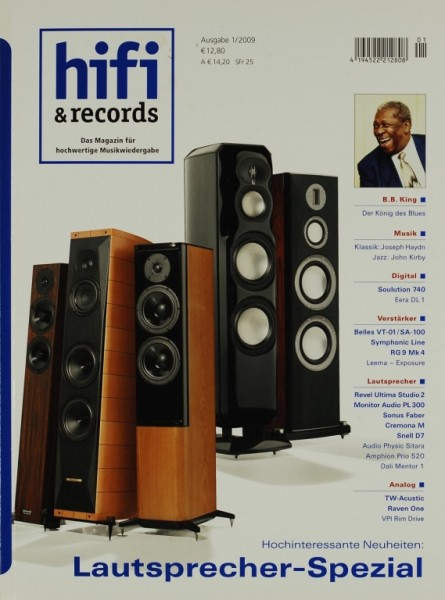 Hifi & Records 1/2009 Zeitschrift