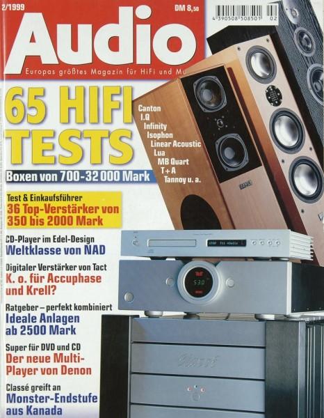 Audio 2/1999 Zeitschrift