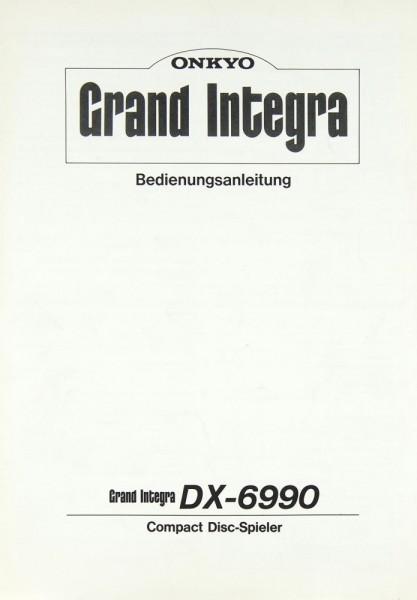 Onkyo DX-6990 Bedienungsanleitung