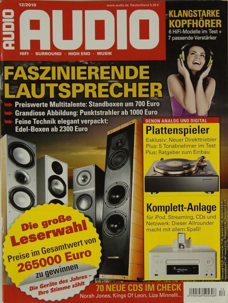 Audio 12/2010 Zeitschrift