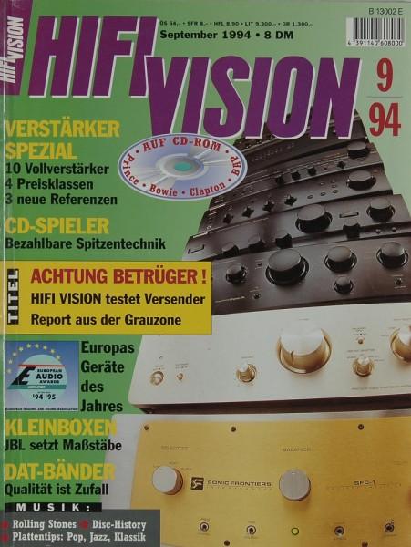 Hifi Vision 9/1994 Zeitschrift