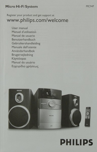 Philips MC 147 Bedienungsanleitung
