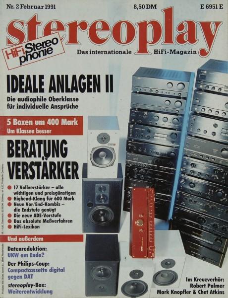 Stereoplay 2/1991 Zeitschrift