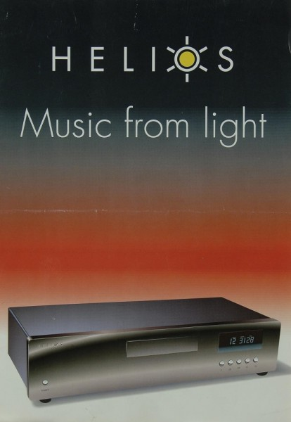 Helios Music from Light Prospekt / Katalog