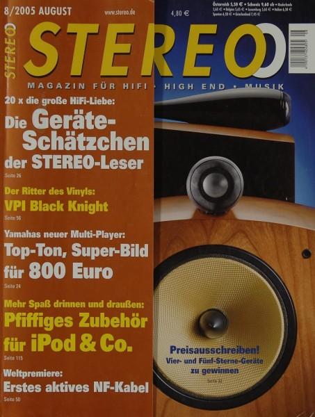 Stereo 8/2005 Zeitschrift