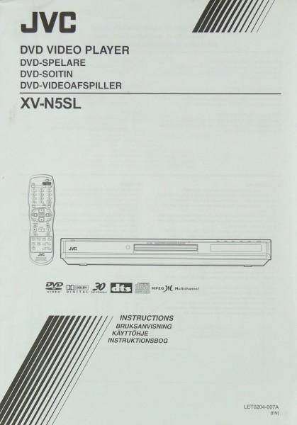 JVC XV-N 5 SL Bedienungsanleitung