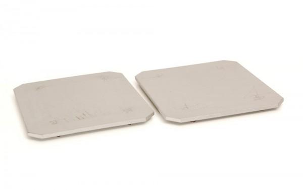 Schwere Metallplatten für Lautsprecher