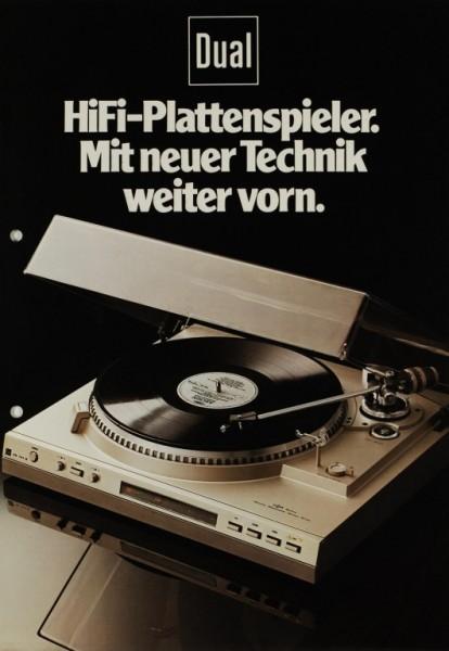 Dual HiFi-Plattenspieler. Mit neuer Technik weiter vorn Prospekt / Katalog
