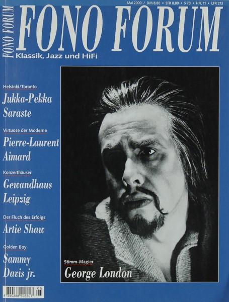 Fono Forum 5/2000 Zeitschrift