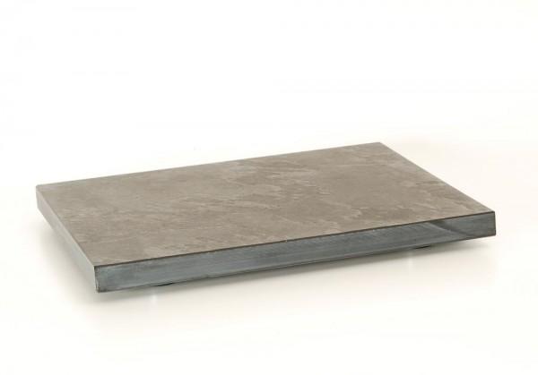 Gerätebasis Schiefer 44x35.5 cm