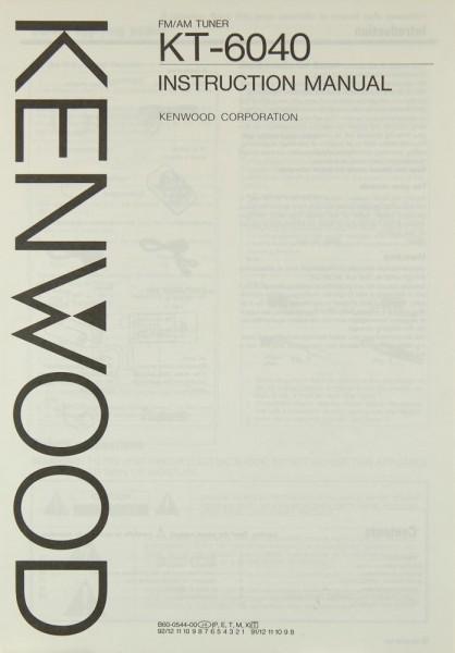 Kenwood KT-6040 Bedienungsanleitung