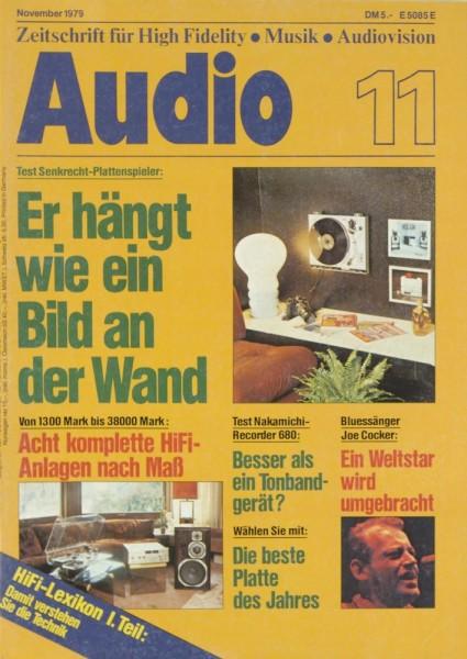 Audio 11/1979 Zeitschrift