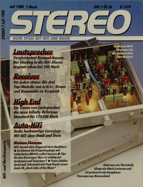 Stereo 7/1988 Zeitschrift