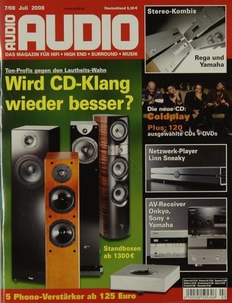Audio 7/2008 Zeitschrift