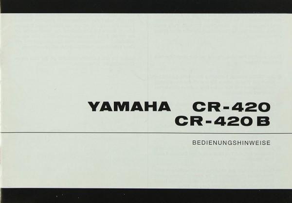 Yamaha CR-420 / CR-420 B Bedienungsanleitung