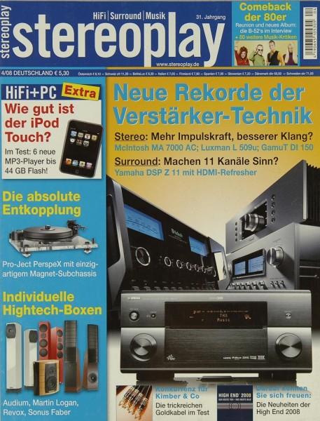Stereoplay 4/2008 Zeitschrift