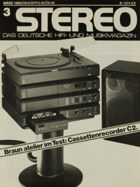 Braun Atelier C 2 Testnachdruck