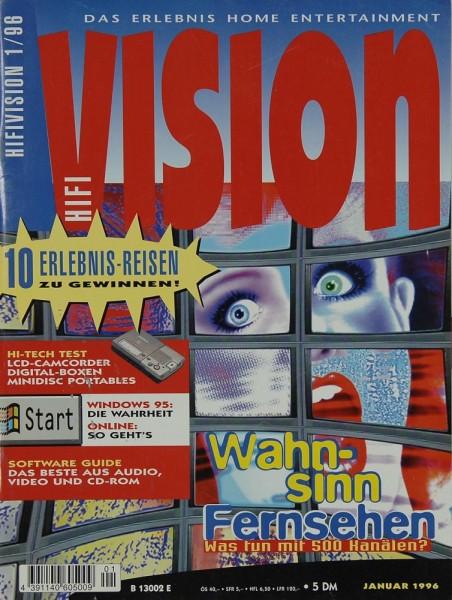 Hifi Vision 1/1996 Zeitschrift