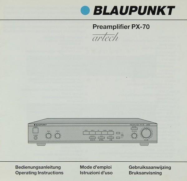 Blaupunkt PX-70 Bedienungsanleitung