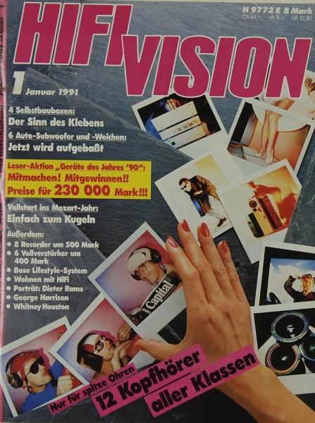 Hifi Vision 1/1991 Zeitschrift